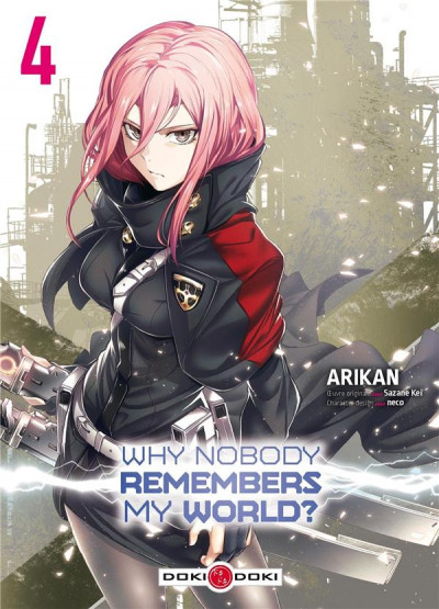 Couverture Why nobody remembers my world ? tome 4