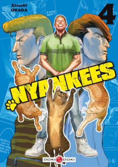 Couverture Nyankees tome 4