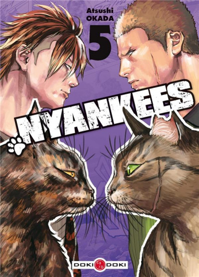 Couverture Nyankees tome 5