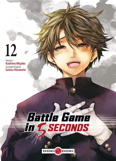 Couverture Battle game in 5 seconds tome 12