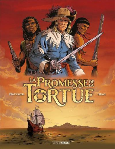 Couverture La promesse de la tortue tome 2