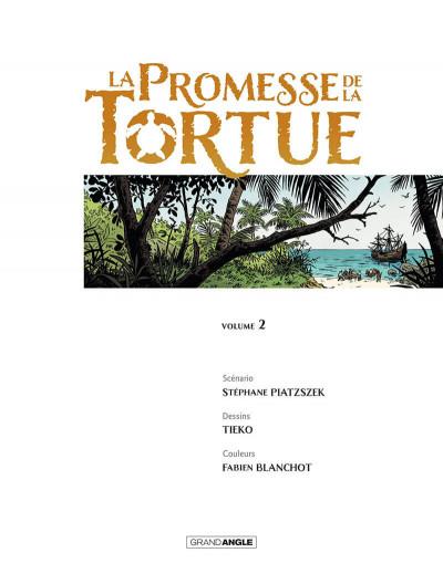 Page 2 La promesse de la tortue tome 2