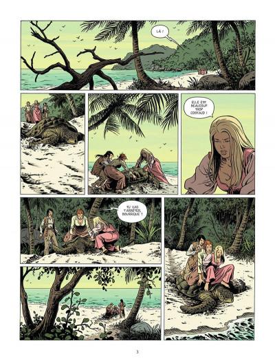 Page 4 La promesse de la tortue tome 2