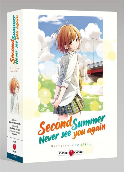 Couverture Second summer, never see you again - coffret tomes 1 et 2