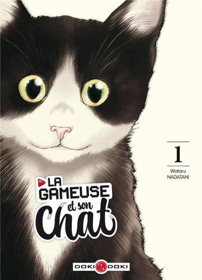 Couverture La gameuse et son chat tome 1