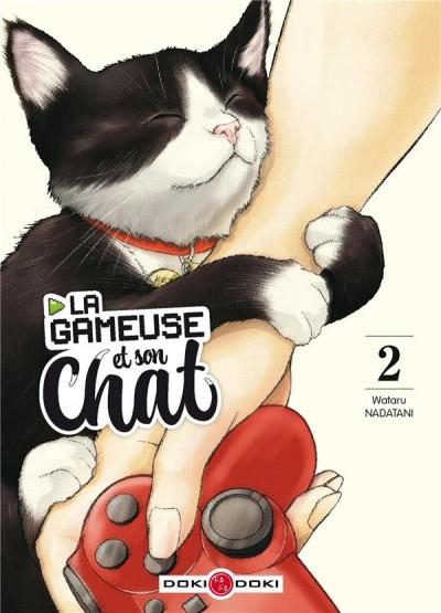 Couverture La gameuse et son chat tome 2