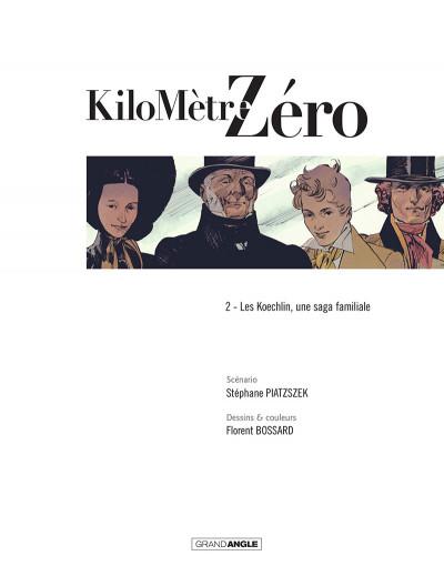 Page 2 Kilomètre zéro tome 2