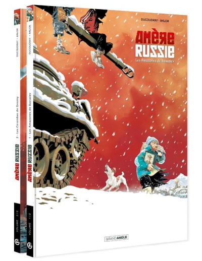 Couverture Amère Russie - pack tomes 1 et 2