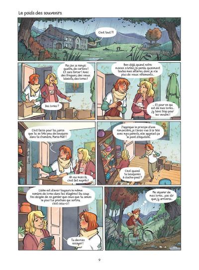 Page 0 Les amies de papier tome 5
