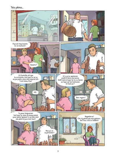 Page 4 Les amies de papier tome 5