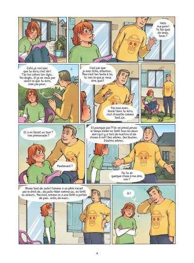 Page 5 Les amies de papier tome 5