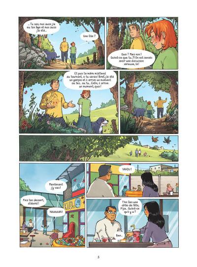 Page 6 Les amies de papier tome 5