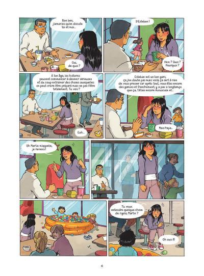Page 7 Les amies de papier tome 5