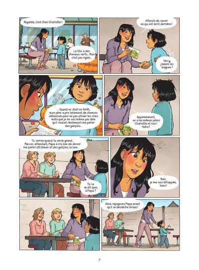 Page 8 Les amies de papier tome 5