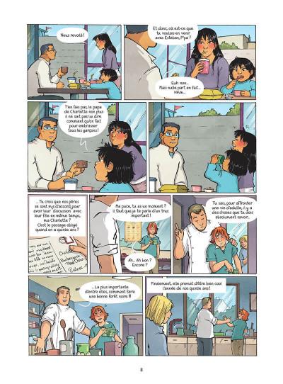 Page 9 Les amies de papier tome 5