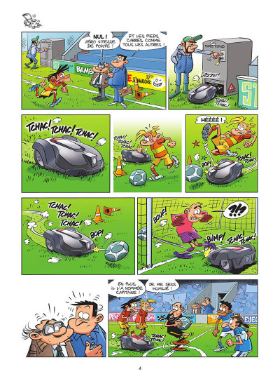 Page 5 Les footmaniacs tome 19