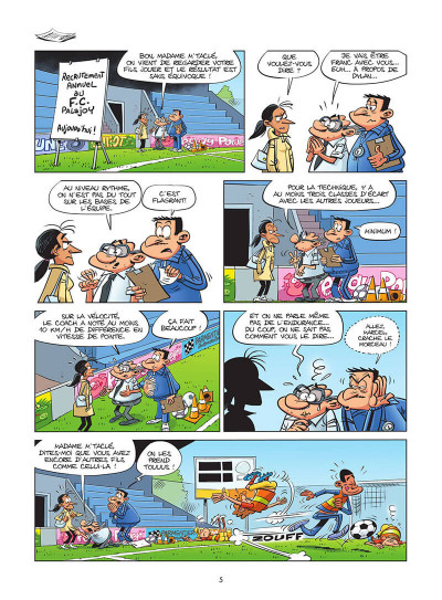 Page 6 Les footmaniacs tome 19