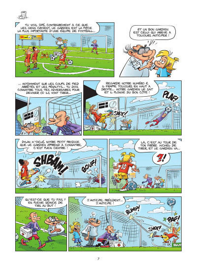 Page 8 Les footmaniacs tome 19