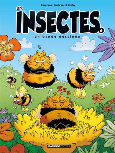 Couverture Les insectes en BD tome 6