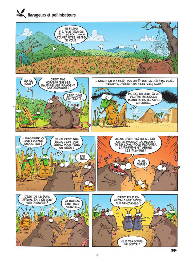Page 4 Les insectes en BD tome 6