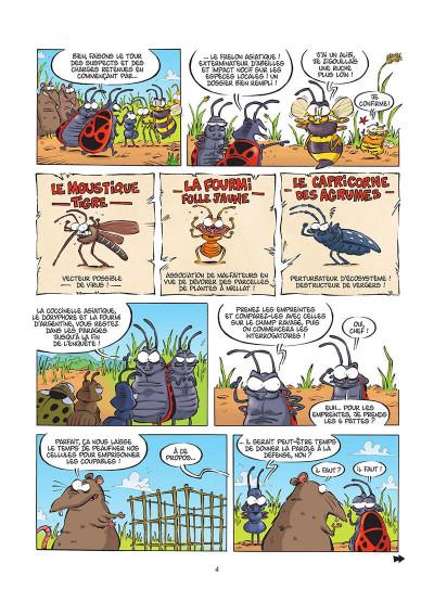 Page 5 Les insectes en BD tome 6