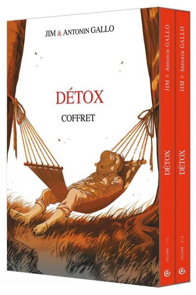 Couverture Détox - coffret tome 1 + tome 2