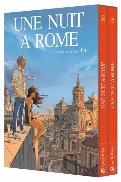 Couverture Une nuit à Rome - coffret 2ème cycle