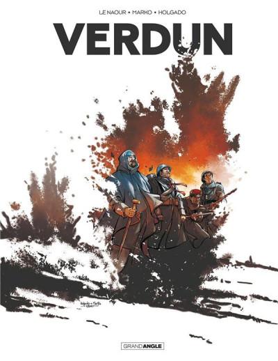 Couverture Verdun - intégrale