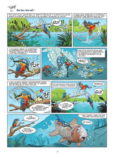 Page 4 Les oiseaux en BD tome 2