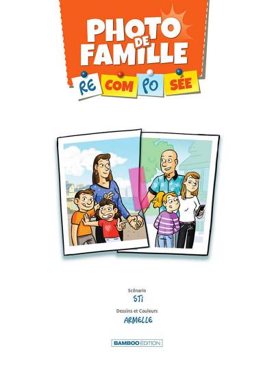 Page 2 Photo de famille (recomposée) tome 2
