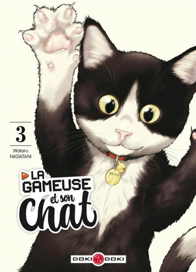 Couverture La gameuse et son chat tome 3