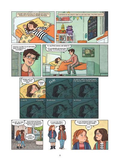 Page 0 Mandarine, une semaine sur deux tome 1