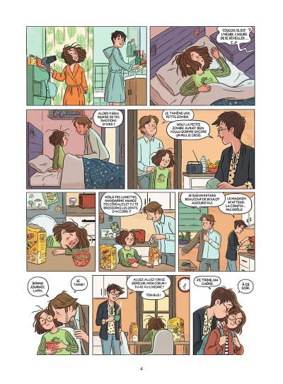 Page 5 Mandarine, une semaine sur deux tome 1