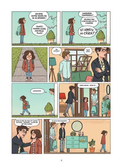 Page 7 Mandarine, une semaine sur deux tome 1