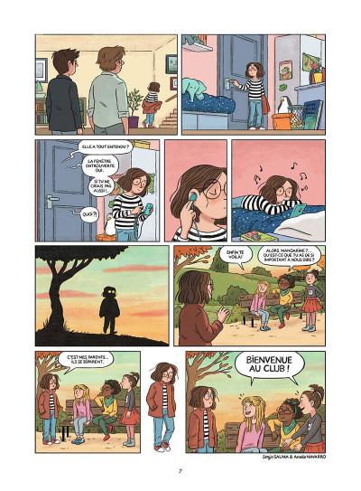 Page 8 Mandarine, une semaine sur deux tome 1