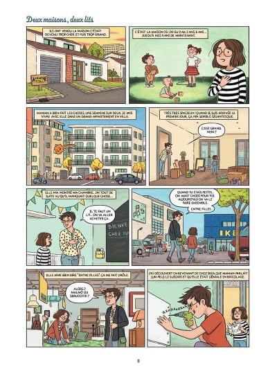 Page 9 Mandarine, une semaine sur deux tome 1