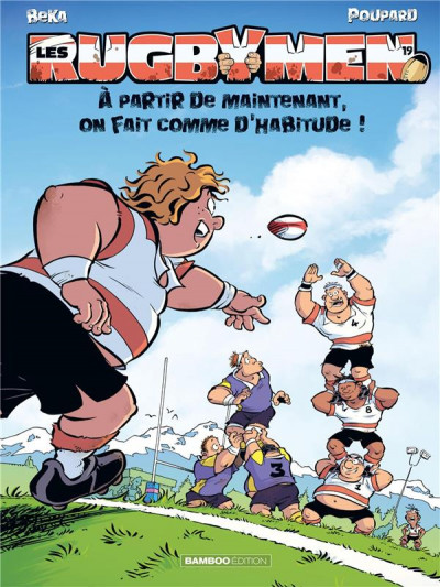 Couverture Les rugbymen tome 19