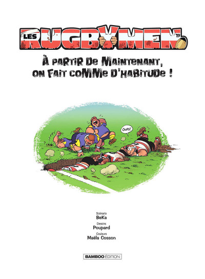 Page 2 Les rugbymen tome 19