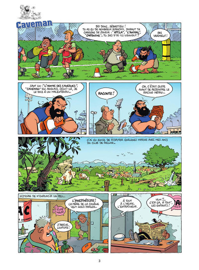 Page 4 Les rugbymen tome 19