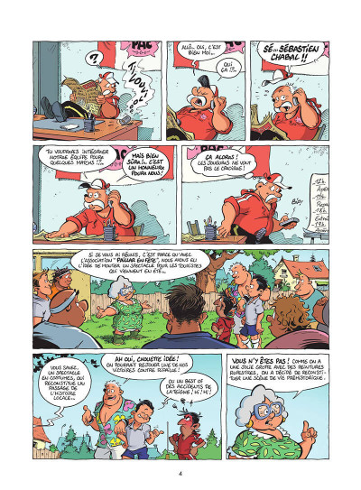 Page 5 Les rugbymen tome 19