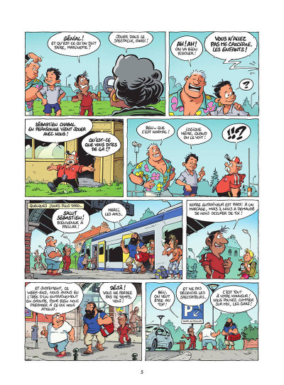 Page 6 Les rugbymen tome 19