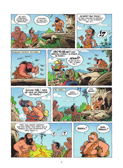 Page 8 Les rugbymen tome 19