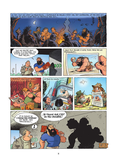 Page 9 Les rugbymen tome 19