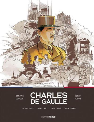 Couverture Charles de Gaulle - intégrale tomes 1 à 4