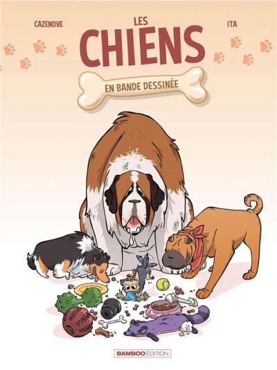 Couverture Les chiens en BD tome 1