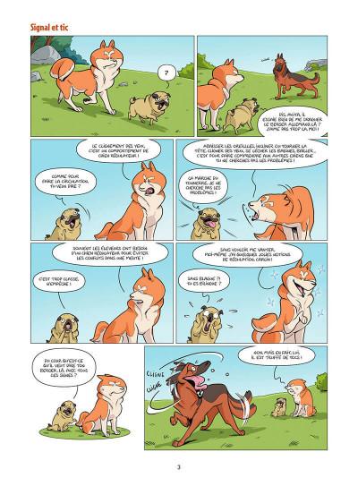 Page 4 Les chiens en BD tome 1