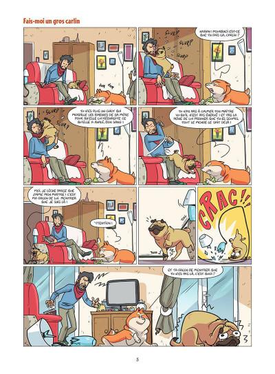 Page 6 Les chiens en BD tome 1