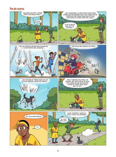 Page 9 Les chiens en BD tome 1