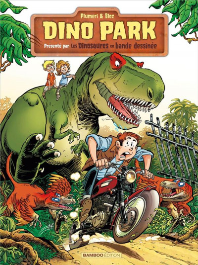 Couverture Dino park tome 1