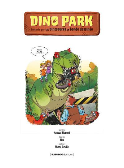 Page 2 Dino park tome 1